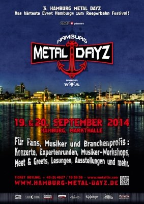 Quelle; Flyer der Hamburger Metal Dayz