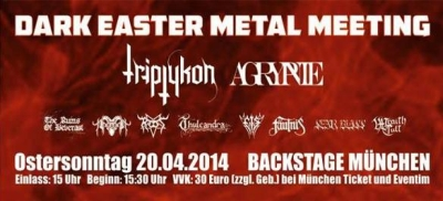 dark easter metal meeting promo