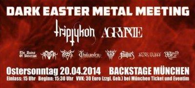dark easter metal meeting promo